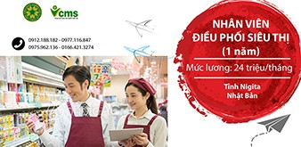 Thông báo tuyển Thực tập sinh ngành Dịch vụ làm việc tại tỉnh Nigita Nhật Bản tháng 8