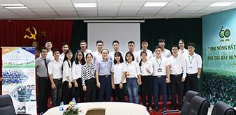 Phỏng vấn du học Đại học quốc gia Incheon Hàn Quốc tại Học viện Nông nghiệp Việt Nam