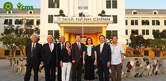 Tiếp đoàn Đoàn cán bộ tỉnh Nagasaki thăm và làm việc tại Học viện Nông nghiệp Việt Nam ngày 5/6/2018