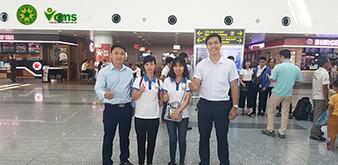 Tạm biệt hai cô gái tháng 5 của Học viện Nông nghiệp Việt Nam lên đường sang Nhật Bản học tập và làm việc