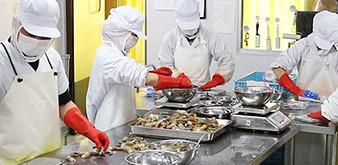 Thông báo tuyển Thực tập sinh ngành CNTP: Chế biến thủy, hải sản làm việc tại Nhật Bản tháng 11/2018