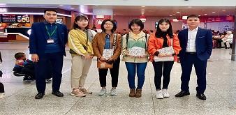 Tiễn chân các nữ Kỹ sư thực phẩm Nhật Bản tháng 3, Lên đường với nhiệt huyết và hoài bão