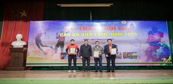 Gần 1000 CBVC và vận động viên tham gia Hội thao - Hội chợ cán bộ, viên chức Học viện Nông nghiệp Việt Nam năm 2019