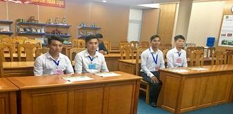 Description: (Buổi phỏng vấn các ứng viên kỹ sư Chăn nuôi Thú y lợn tại ChiBa)