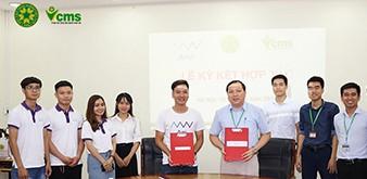 Lễ ký kết hợp tác Dự án Công nghệ thông tin cùng công ty cổ phần công nghệ BMG AMI