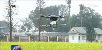 Thiết bị bay siêu nhẹ ứng dụng trong nông nghiệp 4.0