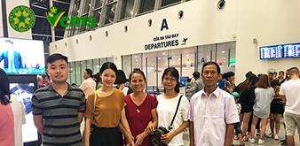 Tiễn chân Kỹ sư bò sữa lên đường sang Nhật Bản làm việc ngày 8/7/2018