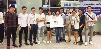 Chúc mừng Du học sinh Trung tâm Cung ứng nguồn nhân lực, Học viện Nông nghiệp Việt Nam lên đường sang nhập học tại đại học quốc gia Incheon Hàn Quốc