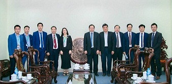 Phó chủ tịch hiệp hội JICA Nhật Bản đến thăm và làm việc tại Học viện Nông nghiệp Việt Nam