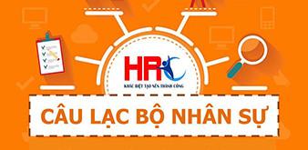 CLB Nhân sự VNUA – giải pháp nghề nghiệp toàn diện mới cho sinh viên  Học viện Nông nghiệp Việt Nam