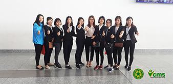 Tiễn chân đoàn Kỹ sư Nông nghiệp xuất cảnh ngày 17/4/2018