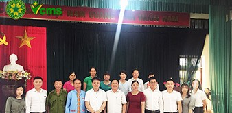 """Hội thảo """" Giới thiệu Cơ hội học tập và làm việc tại Nhật Bản, Hàn Quốc"""" tại xã Mỹ Lương, Yên Lập, Phú Thọ"""