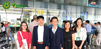Đón đoàn Thực tập sinh ngành Dịch vụ của Học viện Nông nghiệp Việt Nam về nước ngày 29.10.2018
